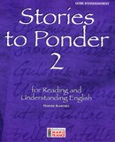 Stories to Ponder 2, 2e secondaire, guide d'enseignement