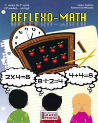 Réflexo-Math, 1re année du 2e cycle, 3e année, corrigé en format PDF