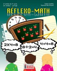 Réflexo-Math, 2e année du 3e cycle, 6e année, corrigé en format PDF