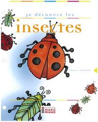 Je découvre les insectes, fichier reproductible complet