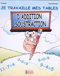 Je travaille mes tables d'addition et de soustraction, cahier de l'élève