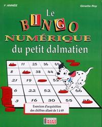 Le Bingo numérique du petit dalmatien, 1re année, cahier de l'élève