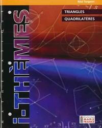 Triangles, quadrilatères 116, cahier de l'élève