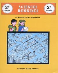 Sciences humaines, 2e année, cahier de l'élève