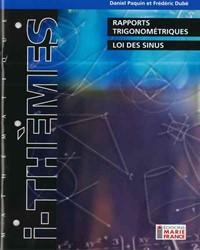 Rapports trigonométriques, loi des sinus 416, cahier de l'élève