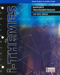 Rapports trigonométriques, loi des sinus 416, corrigé