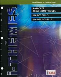 Rapports trigonométriques, loi des sinus, loi des cosinus 426-436, corrigé