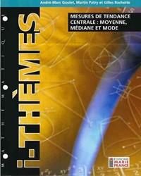 Mesures de tendance centrale : moyenne, médiane et mode 314, fichier reproductible complet