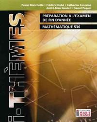 Préparation à l'examen de fin d'année 536, cahier de l'élève