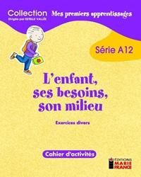 A12 Exercices divers, cahier de l'élève