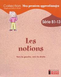 B1-13 Vers la gauche, vers la droite (suite), fichier reproductible complet