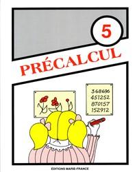 Précalcul No 5, cahier de l'élève