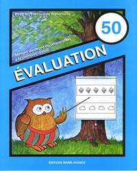 Évaluation No 50, cahier de l'élève