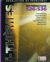 Résolution de problèmes (Mauve) 526-536, fichier reproductible complet