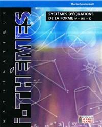 Système d'équations de la forme y=ax+b  416, fichier reproductible complet
