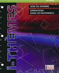 Sens du nombre, opérations dans les rationnels, mathématique 116, fichier reproductible complet