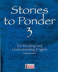 Stories to Ponder 3, 3e secondaire, cahier de l'élève