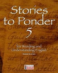 Stories to Ponder 5, 5e secondaire, fichier de l'élève reproductible