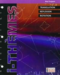 Translation, réflexion, rotation, mathématique 116, fichier reproductible complet