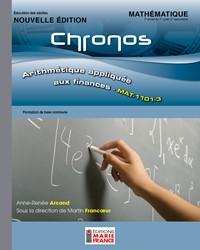 MAT-1101-3, Arithmétique appliquée aux finances - Nouvelle édition, recueil d'activités