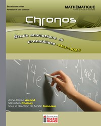 MAT-1102-3, Étude statistique et probabiliste, recueil d'activités