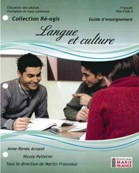 FRA-P106-4, Langue et culture, guide d'enseignement et corrigé